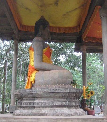 Buddha, Siem Reap.