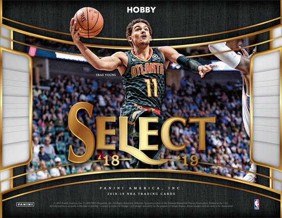 2018/19 Panini SELECT Hobby Box Pre Order (6 MAR) $219.95
