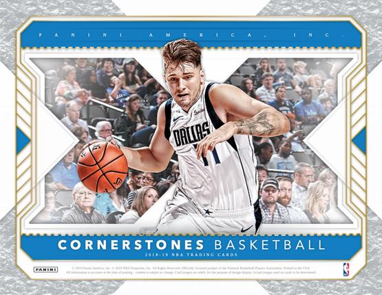 2018/19 Panini CORNERSTONES Hobby Box $234.95