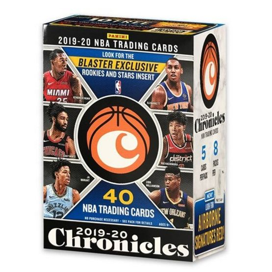 2019-20 Panini CHRONICLES Blaster Box $145.00