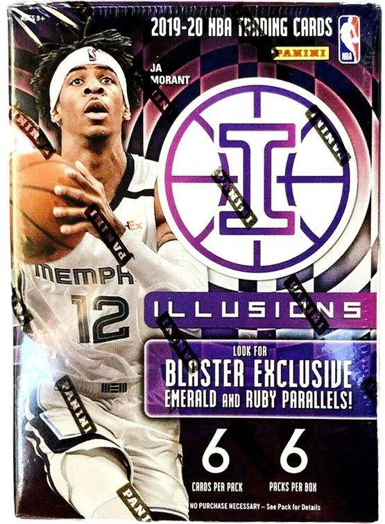 2019-20 Panini ILLUSIONS Blaster Box $120.00
