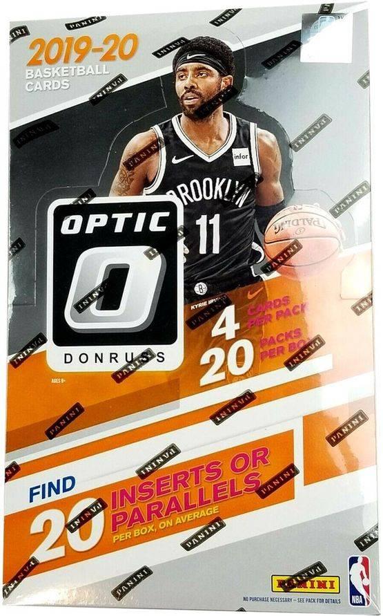 2019-20 Panini Donruss OPTIC 20-Pack Retail Box $485.00