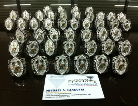 hall of fame ring collections