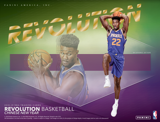 2018-19  REVOLUTION Basketball Hobby Box