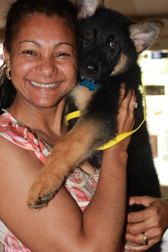 Happy Mom Happy pup
