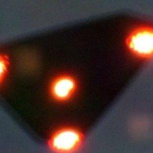 Triangle UFO TR3B aircraft