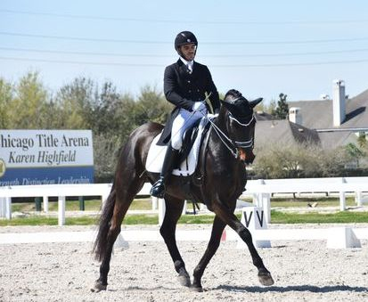 Vincent Flores & Dolce, Swedish Warmblood gelding
