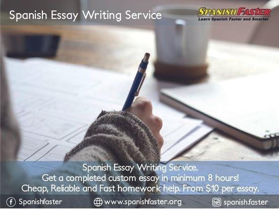 Buy spanish essay