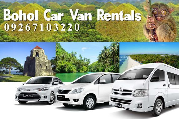 Affordable Car & Van Rental Packages in Bohol. DOT Accredited.