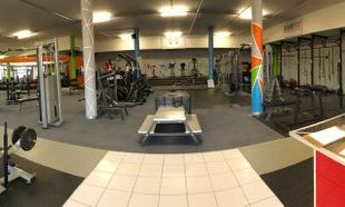 Main entrance of Dynamic Health Gym