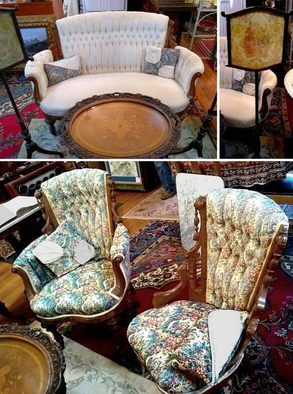 Victorian Living Room Set