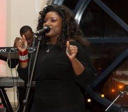 Vocalist Nicole Taylor