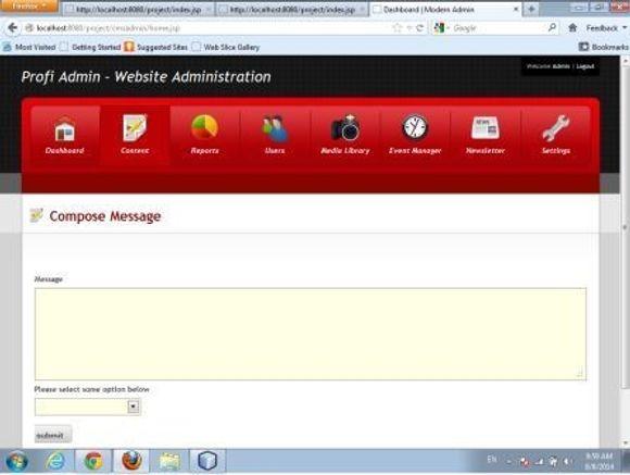 Online Notice Board In Advance Java