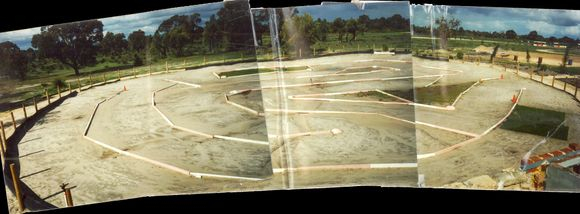 The track as it was in the early days, back in 1996