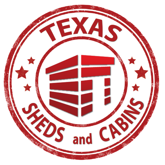 texas sheds and cabins logo