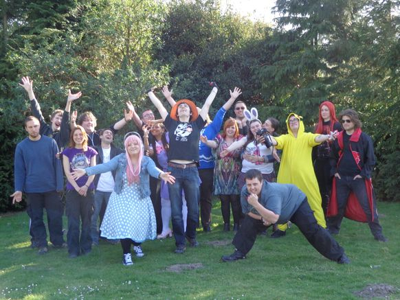 Cosplay Easter with merchandise, charity auction, quiz and also an Easter egg hunt - 18th April 2015 - The Griffin Pub, Norwich