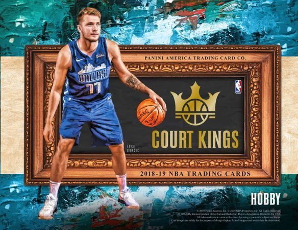 2018-19 Court Kings Basketball Hobby Box
