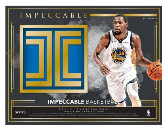 2018-19  IMPECCABLE Basketball Hobby Box