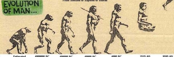 evolution of man atoms consciousness