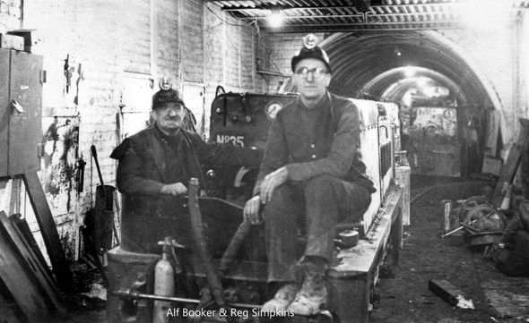 Cadeby Colliery Miners