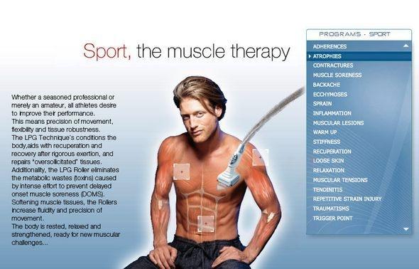 Aplicações diversas da massagem desportiva