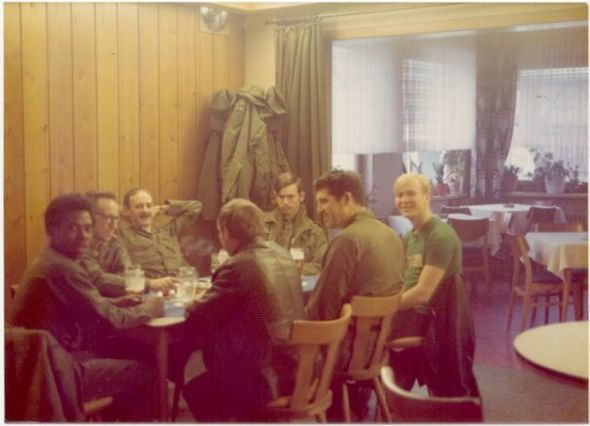 D 2 1 ADA Launcher area crew having dinner Dichtelbach