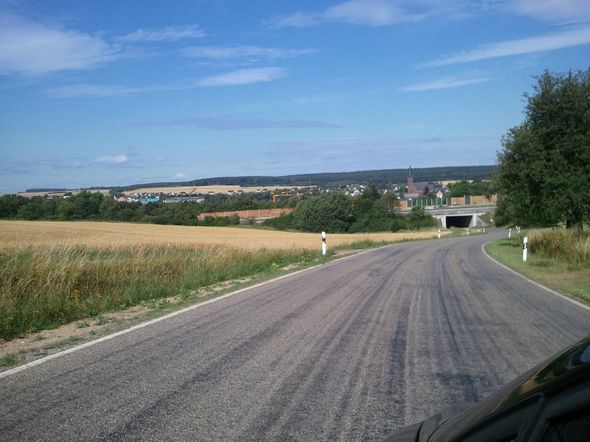 Leaving Dichtelbach, Germany