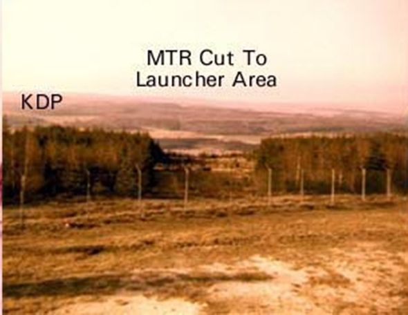 IFC Radar Area, Nike Hercules Missile Site  D Btry 2nd Bn 1st ADA 32nd AADCOM, Dichtelbach, Germany.