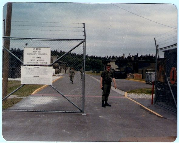 Launcher Area Nike Hercules Missile Site  Delta 2-1- ADA -32nd AADCOM, Dichtelbach, Germany.