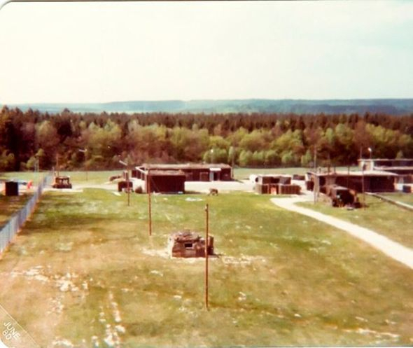 Nike Hercules Missile Launcher Area   Delta 2-1- ADA -32nd AADCOM, Dichtelbach, Germany.