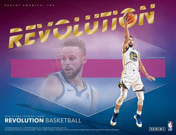 2018-19  Revolution CNY Basketball Hobby Box