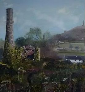 The Great Flat Lode, Cornish tin mine