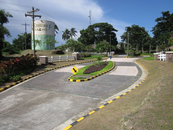 Entrance to Liesure Farms Subdivision, Lemery, Batangas