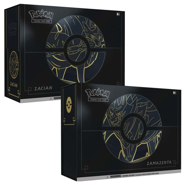 Pokemon TCG Elite Trainer Box Plus- Zacian & Zamazenta