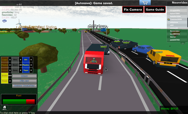 Trucking Tycoon (ROBLOX) by: Immi
