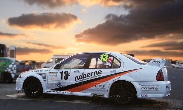 MGZS V6 Race Car - Car Pron V6 power vulcan racing