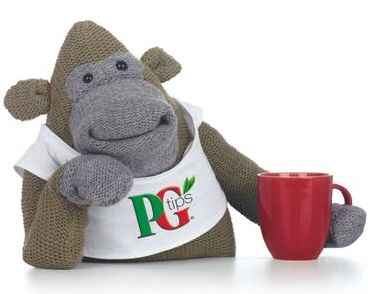 PG Tips monkey character