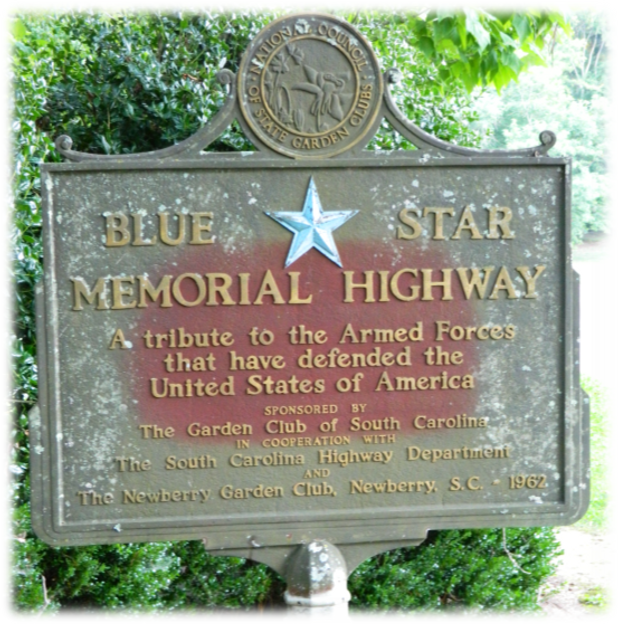 Visit our Road Side Park to see our Blue Star Memorial Highway Landmark.