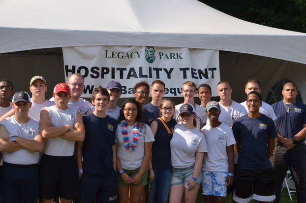 Fourth of July Community Service at Legacy Park.