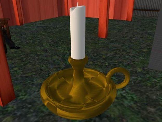 Logan, Blender Candlestick