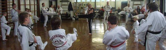 TaeKwonDo Training Sessison