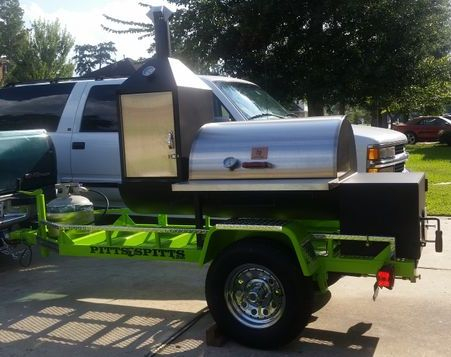 Bbq Smoker Rentals In Spring Tx Green Apple Trailers
