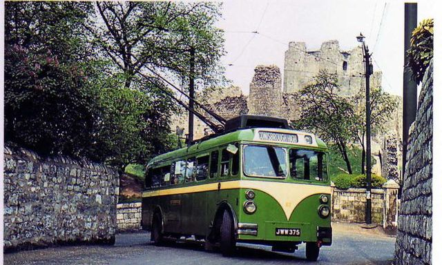 Trackless on location around Conisbrough Castle