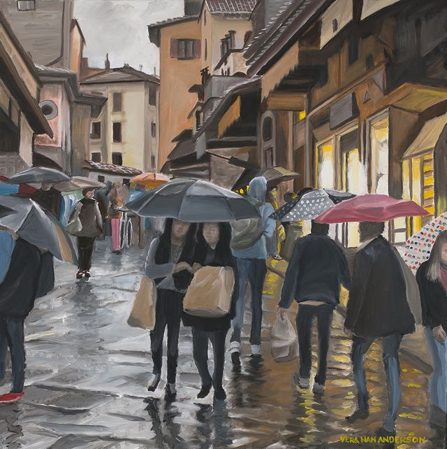01 - Vera Anderson - Acrylic Painting