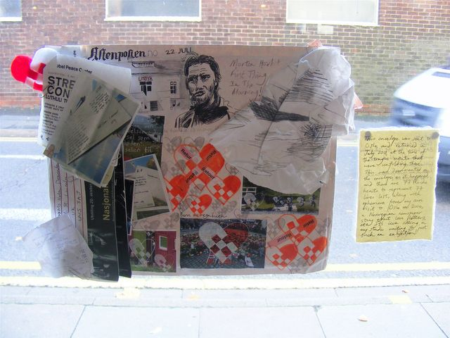 Mail Art Exhibition, Lincoln, 2012