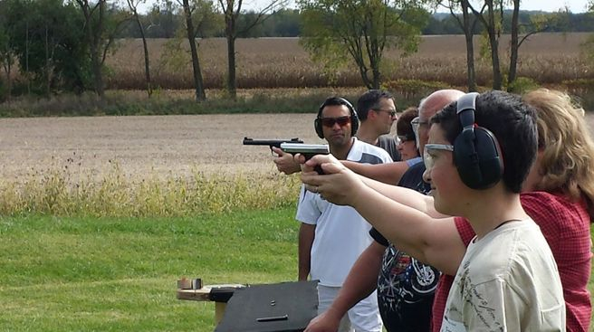 Gun  Range at October CCW Class
