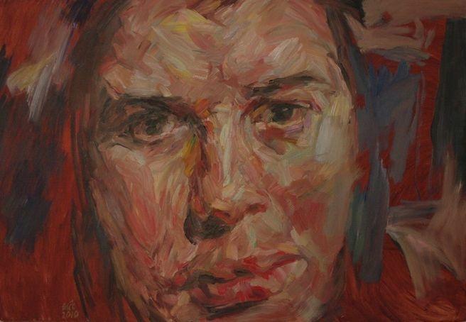 Ciarna 100 x 120cm Oil on Canvas SOLD