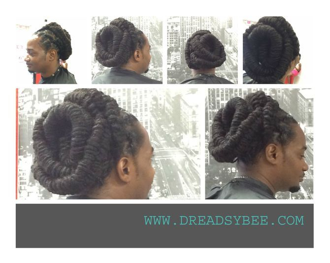 Natural Locs Style by Bee