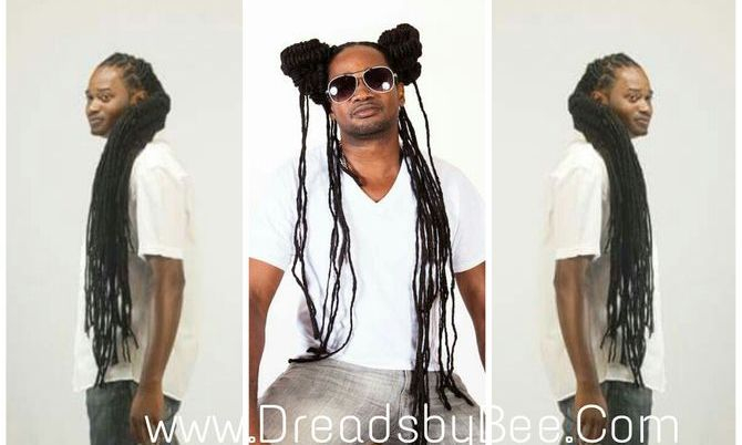 Braids by Bee photo shoot on Long Natural Dreadlocks that has been maintained for over 18 years by Bee.