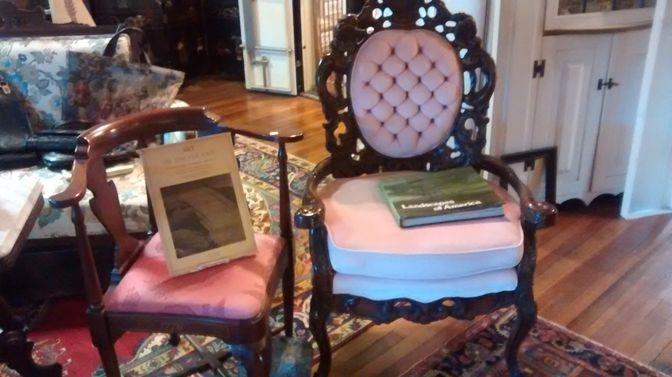 Victorian Corner Chair